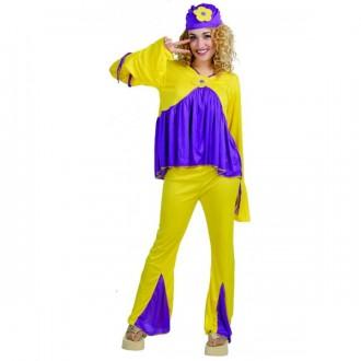 Kostýmy - Hippie - dámský karnevalový kostým 42-44