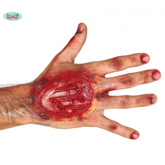 Halloween - Poranenie ruky