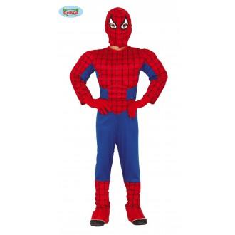 Kostýmy - Kostým Spiderman so svalmi