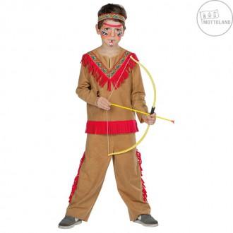 Kostýmy - Indiánsky kostým Kioki