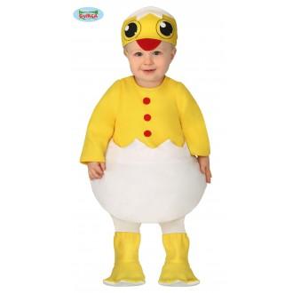 Kostýmy - Kostým kuriatka pre najmenších