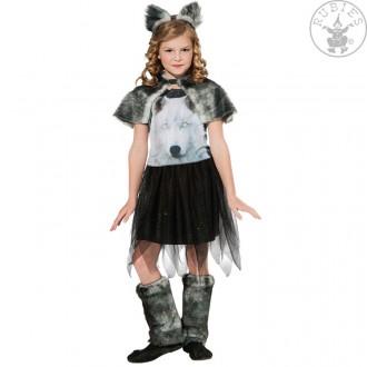 Kostýmy - Tmavá vlčica - kostým