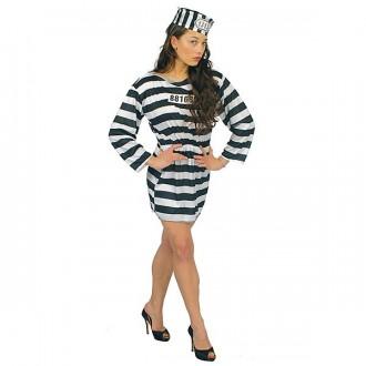 Kostýmy - Kostým väzenkyňa veľ. 42-44