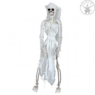 Halloween - Kostra - nevesta 50 cm