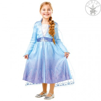 Kostýmy - Kostým Elsa Ľadové kráľovstvo 2 - detský