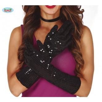 Rukavice - Flitrové rukavice
