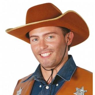 Kovboji - Kovbojský klobúk hnedý filcový