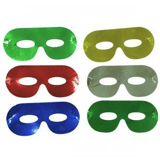 Masky - Škrabošky papierové mix