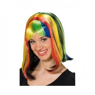 Parochne - Parochňa Rainbow - karnevalová parochňa