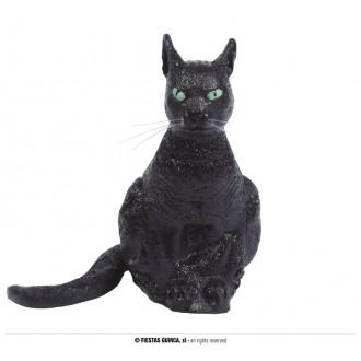 Doplnky - Čierna latexová mačka