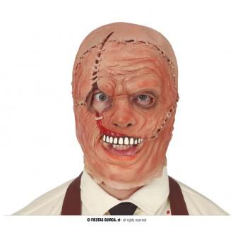 Halloween - Maska zošívaná hlava