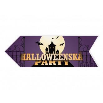 Halloween - Halloweenský ukazovateľ hrad