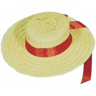 Klobúky - Pánsky slamený klobúk benátsky
