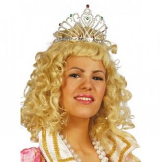 Princezny - Diadem strieborný