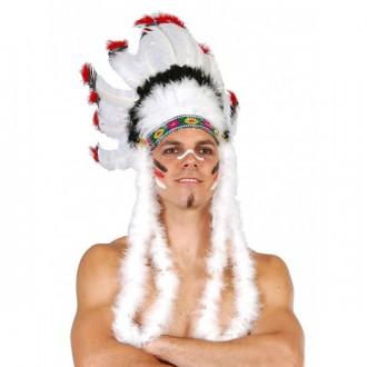 Doplnky - Indiánska čelenka veľká