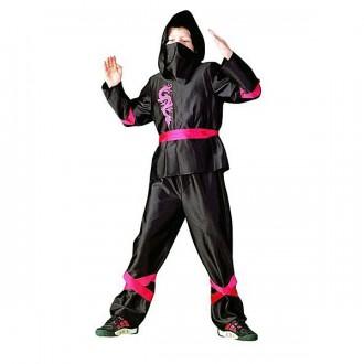 Kostýmy - Ninja red - kostým