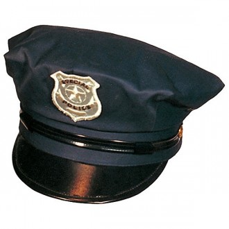 Klobúky - Policajná čiapka