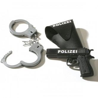 Doplnky - Policajný set 3dielny pištole