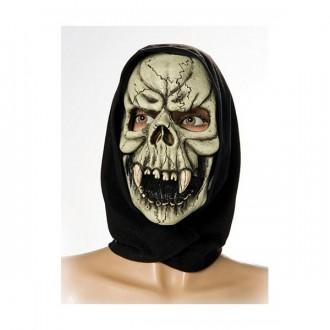 Halloween - Maska smrtka s šatkou