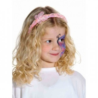 Doplnky - Čelenka s motýlikom