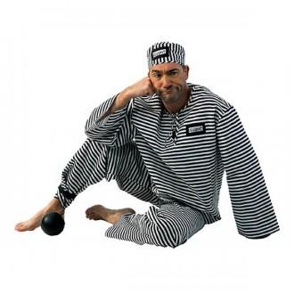 Kostýmy - Kostým pre dospelých - väzeň