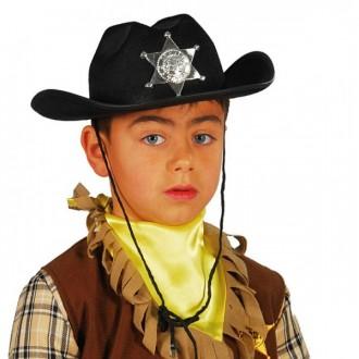 Klobúky - Detský kovbojský klobúk filcový