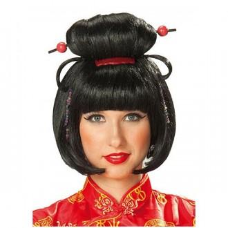 Parochne - Geischa Girl - karnevalová parochňa