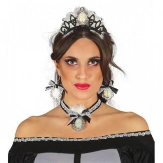 Čarodejnice - Set diadém náušnice a náhrdelník