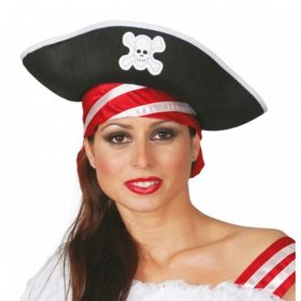 Piráti - Pirátsky klobúk filcový
