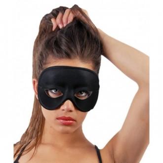 Masky - Čierne domino - maska
