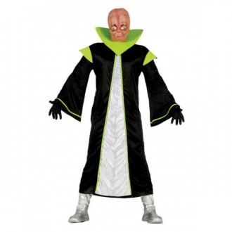 Kostýmy - Alien čierno / zelený