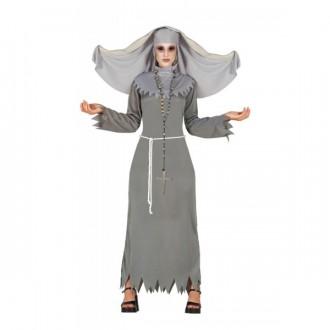 Halloween - Diabolská mníška - kostým