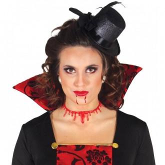 Halloween - Imitácia podříznutého krku