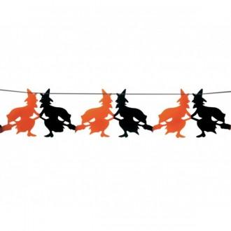 Halloween - Girlanda čarodejnice 23 x 300 cm