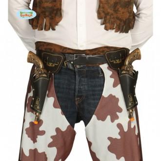 Kovboji - Puzdrá na pištole s pištoľami 29 cm