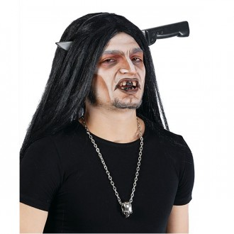 Halloween - Nôž v hlave na spone