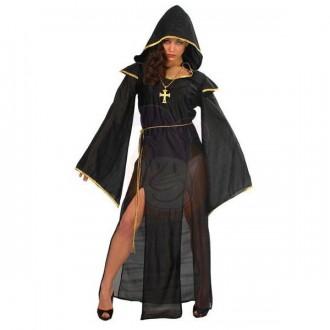 Halloween - Dáma z temnôt - kostým čierny