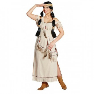 Kostýmy - Squaw - indiánsky kostým