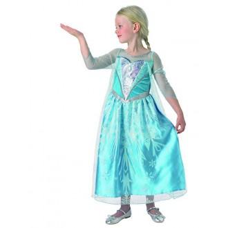 Kostýmy - Elsa  Premium Dress Frozen Child