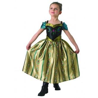 Kostýmy - Anna detský korunovačný kostým