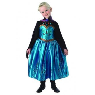 Kostýmy - Elsa - detský korunovačný kostým