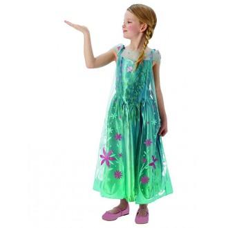 Kostýmy - Detský kostým Elsy letné