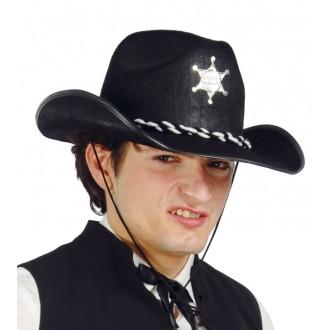 Klobúky - Pánsky kovbojský klobúk s hviezdou