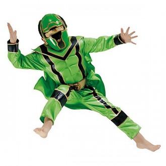 Kostýmy - Kostým Power Ranger Green Boxset - licenčný kostým