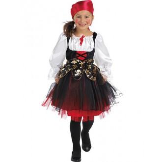 Kostýmy - Pirátsky kostým detský s šatkou na hlavu