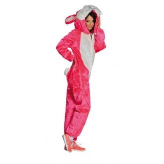 Kostýmy - Kostým ružový zajačik