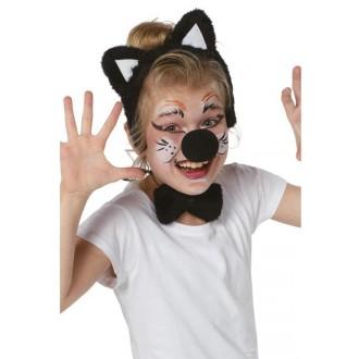 Kostýmy - Detský set mačička