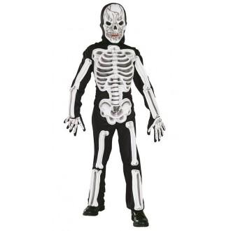 Kostýmy - Kostým kostlivca s plastovou aplikáciou