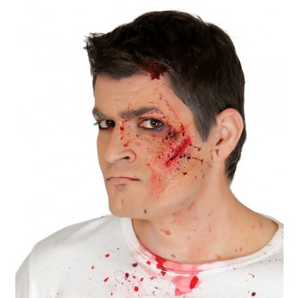 Halloween - Imitácia zranenia - tržná rana