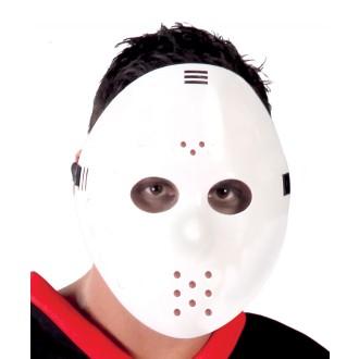 Halloween - Maska HOCKEY biela